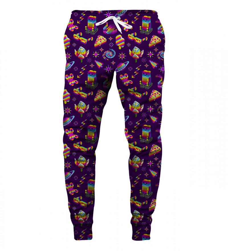 purple sweatpants