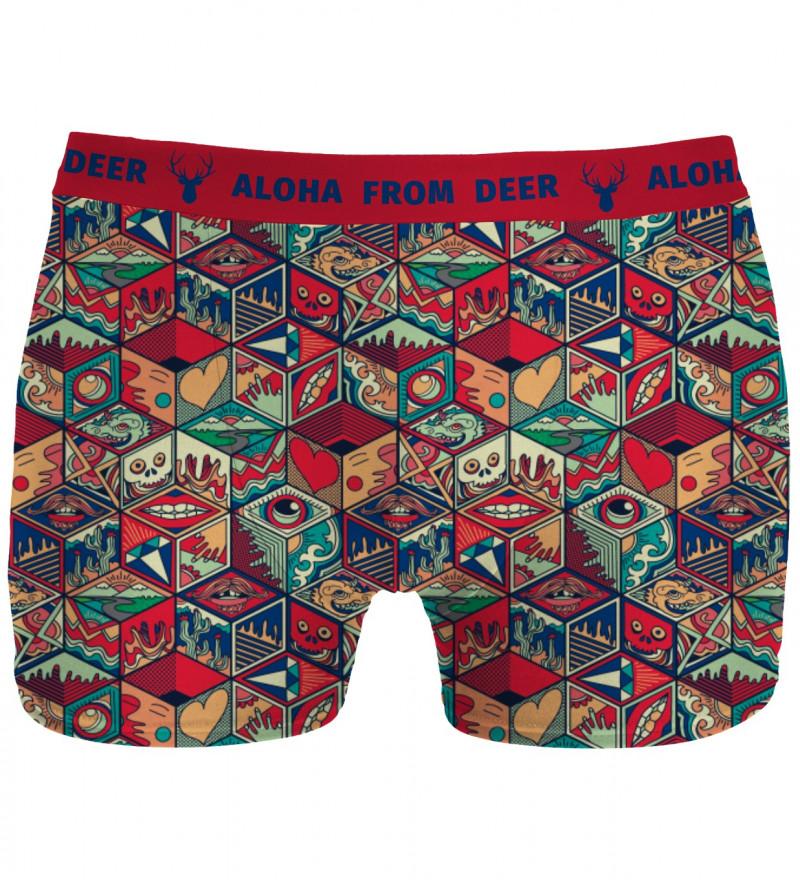 underwear with pandora's box motive