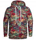 hoodie with pandora's box motive