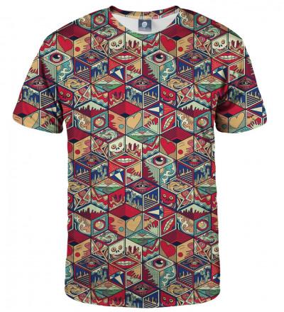 tshirt with pandora box motive