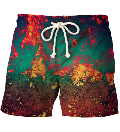 shorts with rust motive