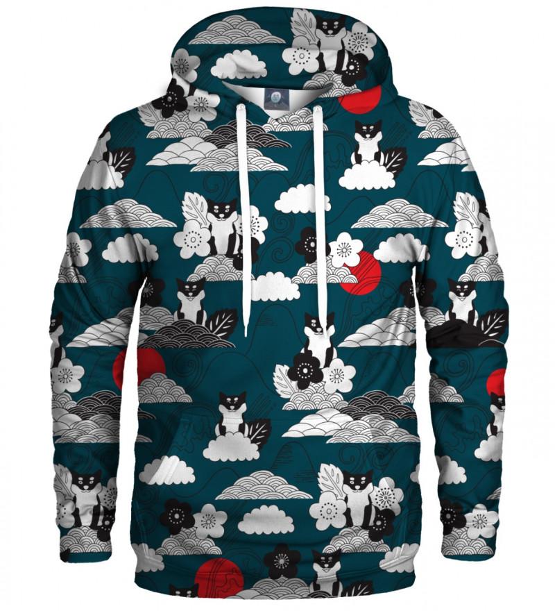 hoodie with shiba inu motive