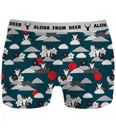 underwear with shiba inu motive
