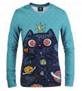 Space Cat women sweatshirt