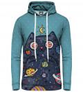 Space Cat women hoodie