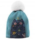 Space Cat beanie