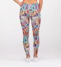 leggings with ice cream motive