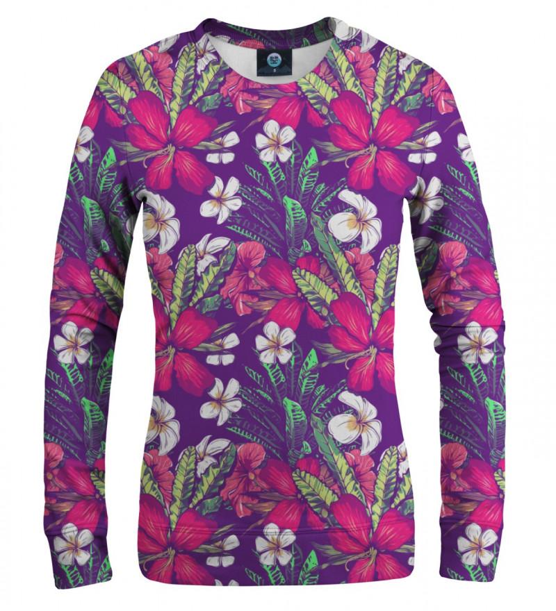 damska bluza z motywem kwiatów