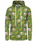 Eggcado women hoodie