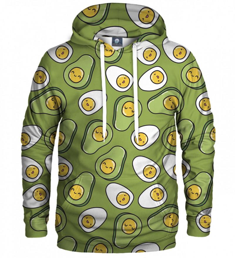hoodie with eggs motive
