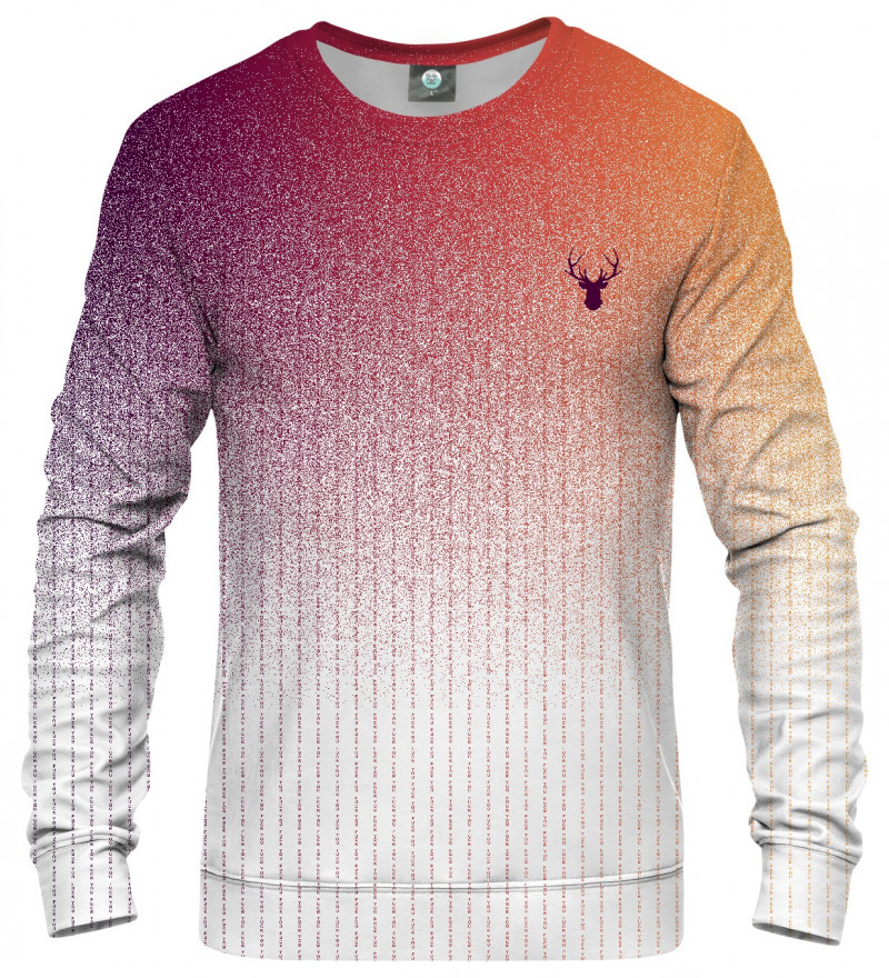 sweatshirt with fk you inscription