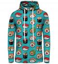 Sushi women hoodie