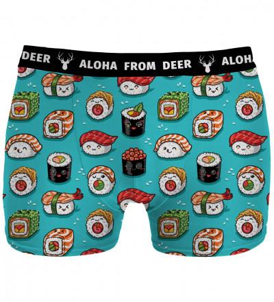 underwear with sushi motive