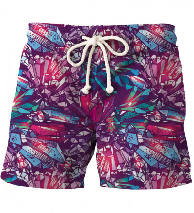 shorts with crystals motive