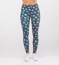 leggings with space invaders motive