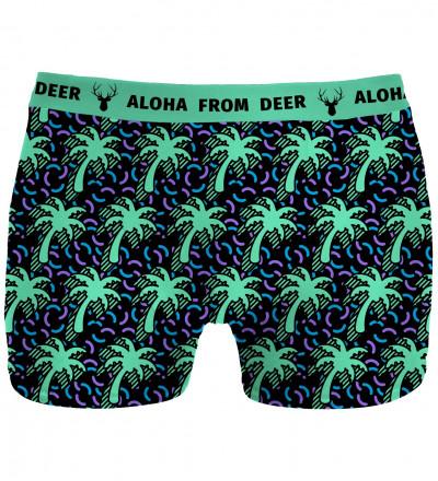 underwear with palms motive