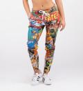 Spodnie dresowe damskie Vintage Comics