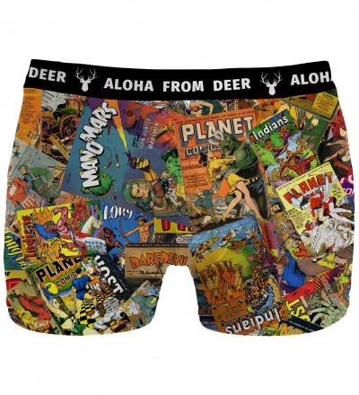 underwear with vintage motive