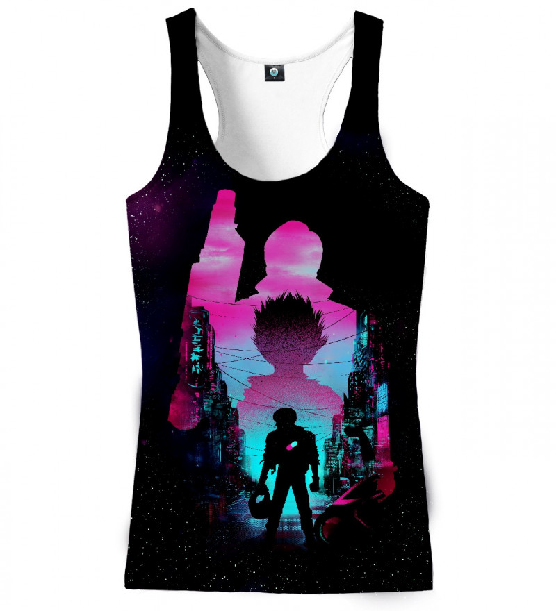 tank top with anime motive