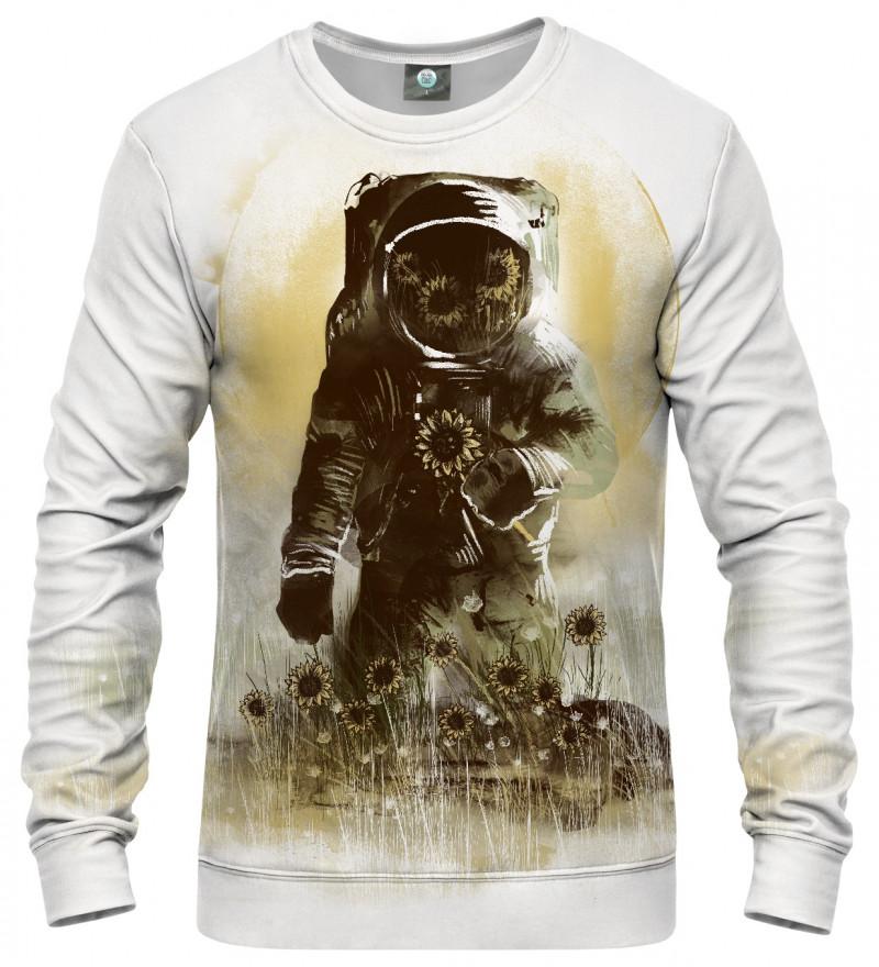 sweatshirt with astronomer motive