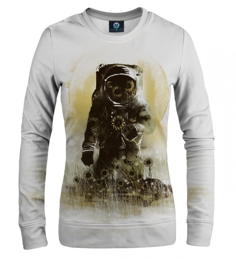 sweatshirt with astronomer motive