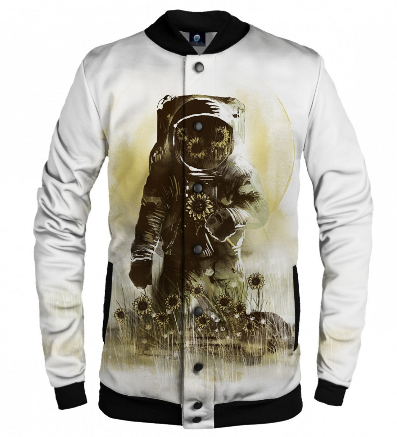 baseball jacket with astronomer motive