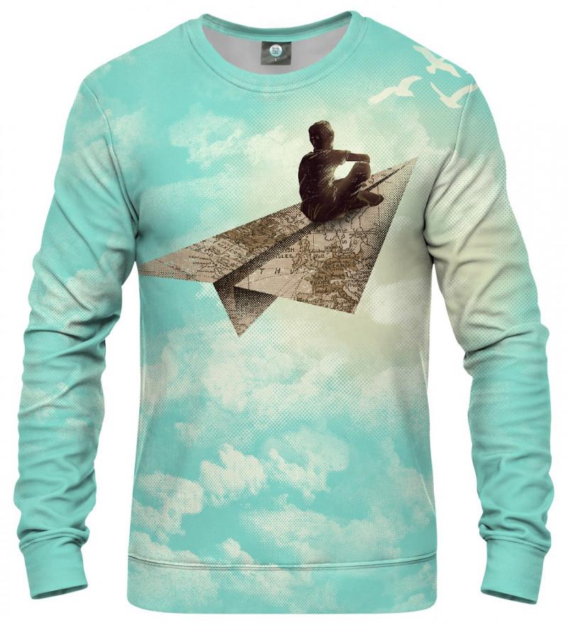 sweatshirt with dreamer motive