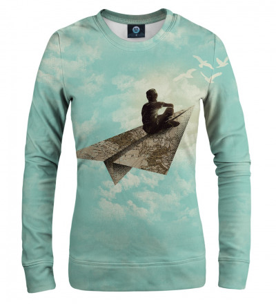 sweatshirt with dreamer motive
