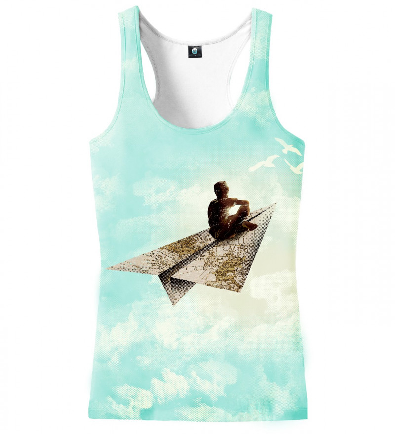 tank top with dreamer motive