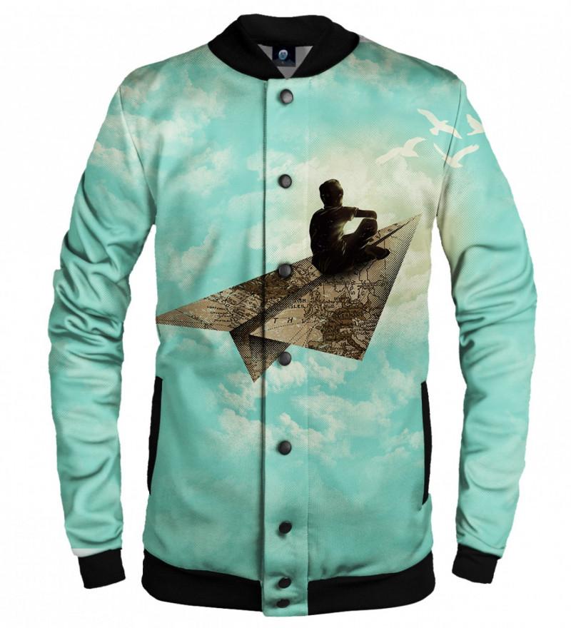 baseball jacket with dreamer motive