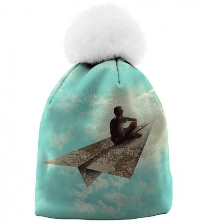 czapka z motywem marzyciela