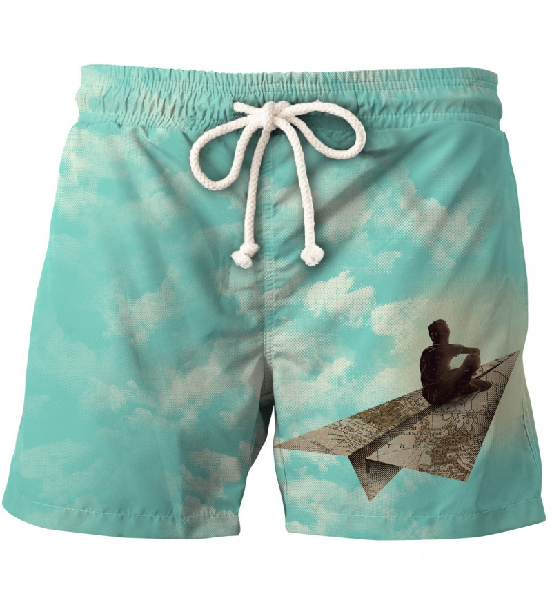 shorts with dreamer motive