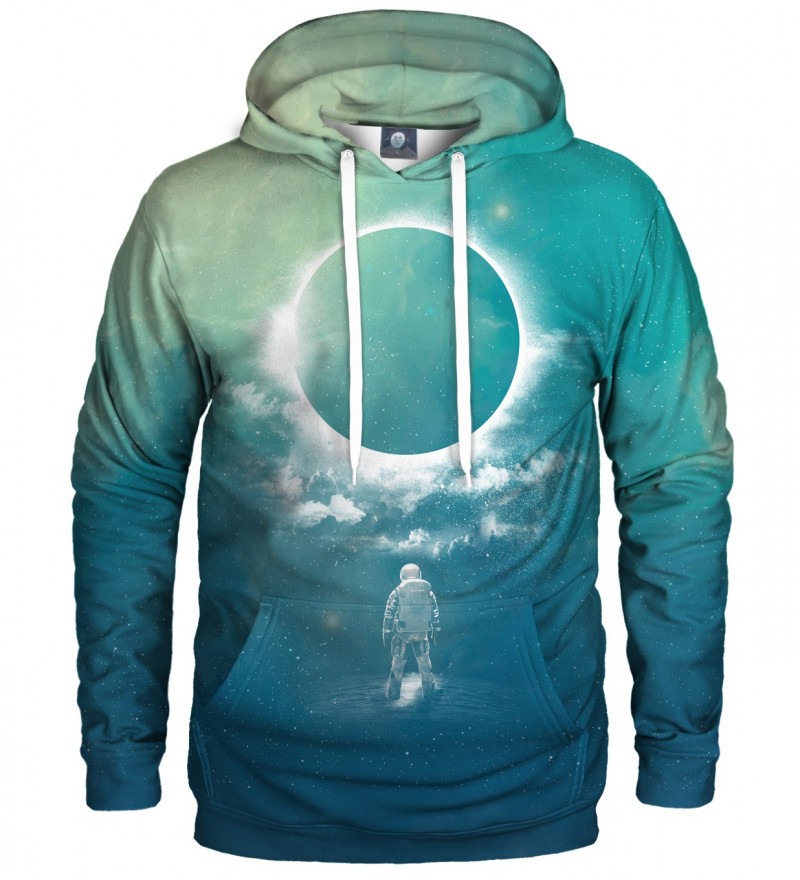 hoodie with eclipse motive