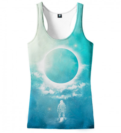 tank top with eclipse motive