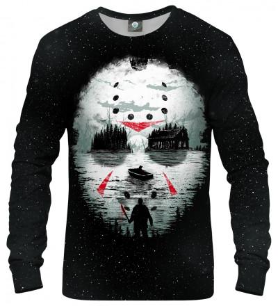 sweatshirt with horror movie motive