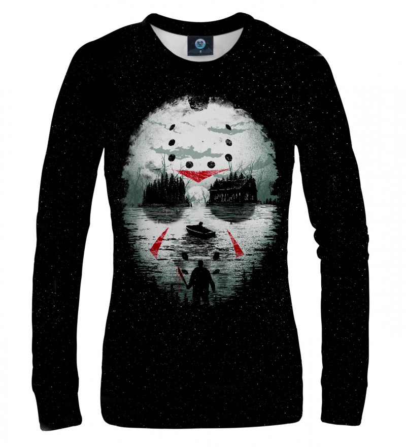 bluza z motywem horroru