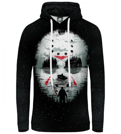 hoodie with horror movie motive
