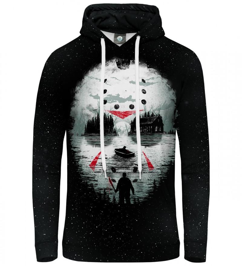 bluza z kapturem z motywem horroru