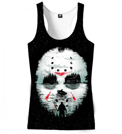 tank top with horror movie motive