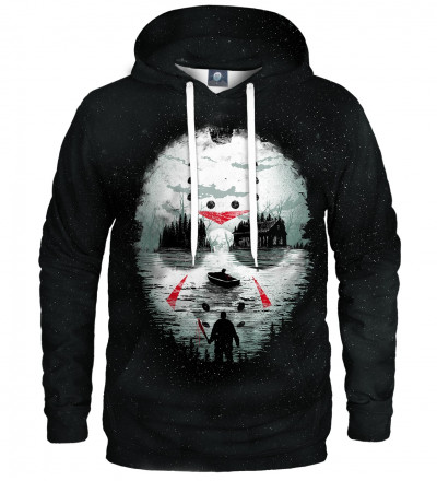 hoodie with horror motive