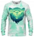 bluza z motywem niedźwiedzia