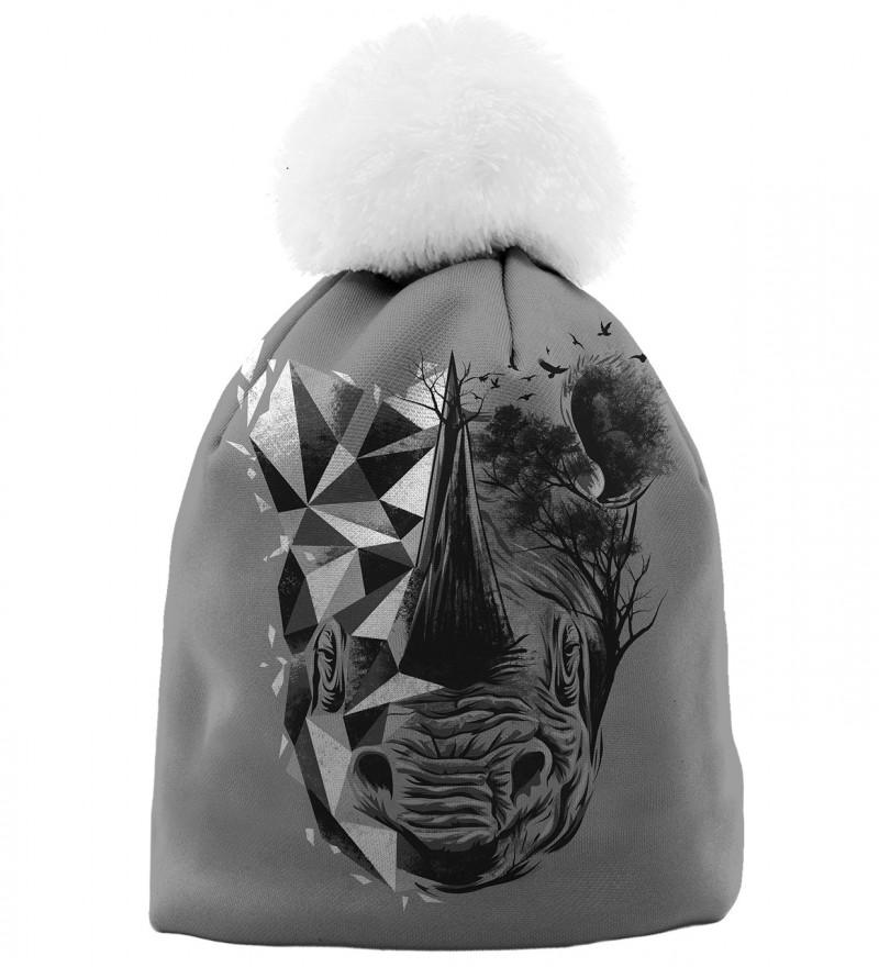 czapka z motywem jednorożca