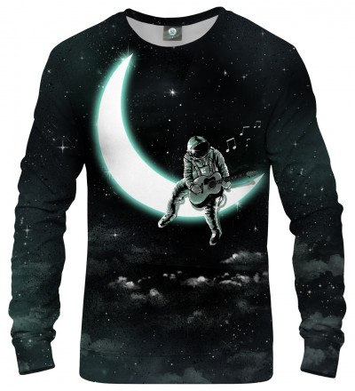 sweatshirt with moon motive