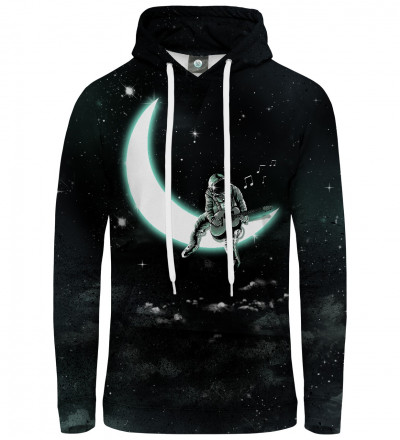 hoodie with moon motive