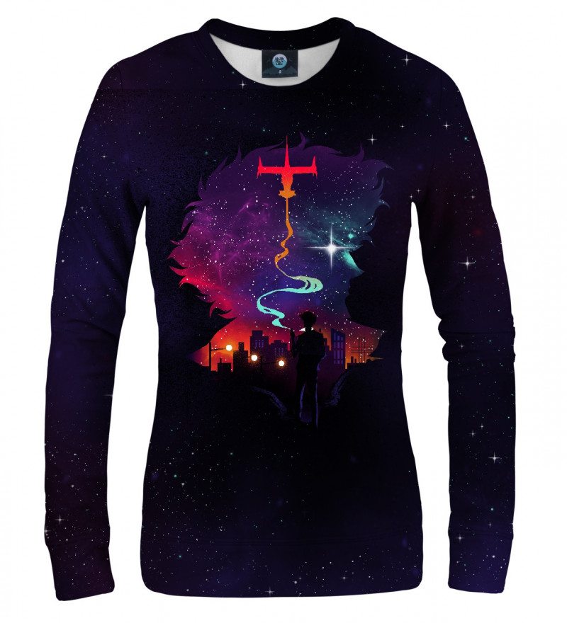 sweatshirt with anime motive
