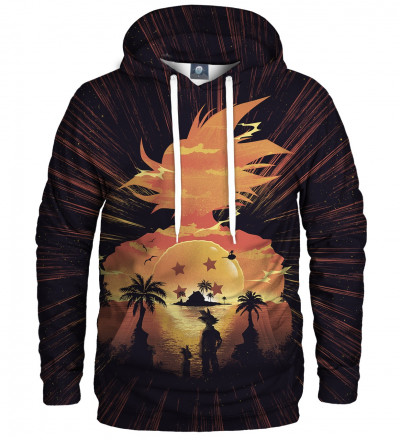 hoodie with anime motive