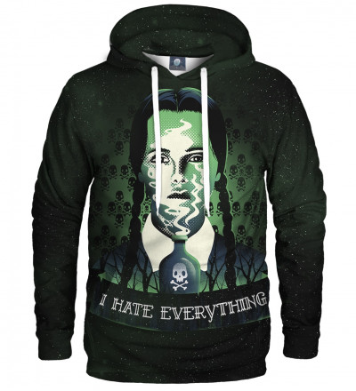 hoodie with Wednesday motive