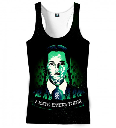 tank top with Wednesday motive