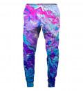 różowo-fioletowe spodnie