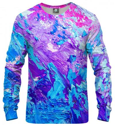 fioletowo-różowa bluza